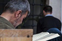 Sarajevo, Bosnia y Herzegovina, Gazi Husrev-pide la mezquita, Islam, Quran, Corán, mezquita, Bascarsija, rezo fotografía de archivo libre de regalías