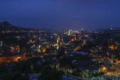 Sarajevo Bosnien och Hercegovina, Europa, sikt från över Royaltyfri Bild