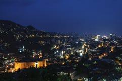 Sarajevo Bosnien och Hercegovina, Europa, sikt från över Royaltyfri Foto
