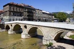 Sarajevo bro Arkivfoton
