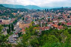 Sarajevo, capital of Bosnia and Herzegovina Stock Images