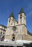 Sarajevo cathedral Stock Photos
