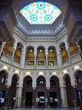 Sarajevo City Hall interior Royalty Free Stock Photography