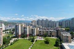 Sarajevo Cityscape - Alipasino Polje Stock Photo