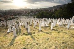 Sarajevo Cityscape Royalty Free Stock Photo