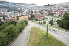 Sarajevo Cityscape Royalty Free Stock Images