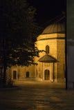 Sarajevo di notte immagine stock
