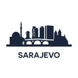 Sarajevo Emblem Royalty Free Stock Photo