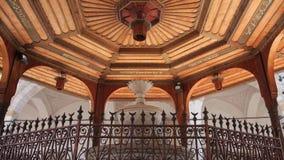 Sarajevo fountain mosque stock video