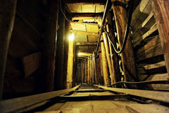 Sarajevo krigtunnel Fotografering för Bildbyråer