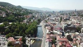 Sarajevo - la ciudad vieja Fotografía de archivo