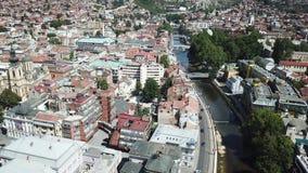 Sarajevo - la vieille ville Photo libre de droits