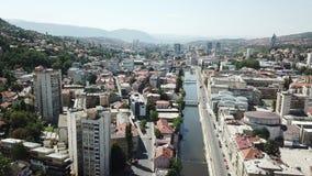 Sarajevo - la vieille ville Image stock