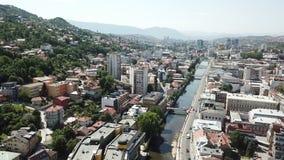 Sarajevo - la vieille ville Photos libres de droits