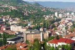 Sarajevo, landscape view stock images