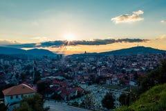Sarajevo, Landschaftsansicht Lizenzfreie Stockbilder