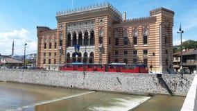 Sarajevo latarnia morska jest piękny i najwięcej wybitnych przedmiotów w pseudo moorish projektują obrazy royalty free