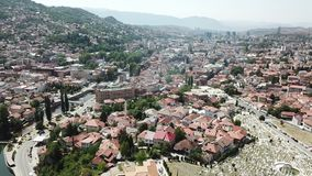 Sarajevo - The Old Town. The municipality of Stari Grad is characterized by its many religious structures and examples of unique Bosnian architecture. The Royalty Free Stock Images