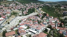 Sarajevo - The Old Town. The municipality of Stari Grad is characterized by its many religious structures and examples of unique Bosnian architecture. The Royalty Free Stock Photography