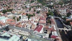 Sarajevo - The Old Town Royalty Free Stock Images