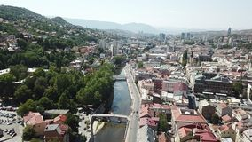 Sarajevo - The Old Town Stock Photography