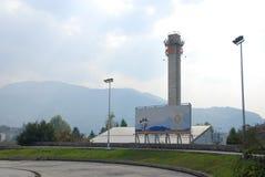 Sarajevo Olympic Tower Royalty Free Stock Photography