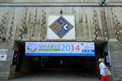SARAJEVO PEACE EVENT 2014 Stock Images