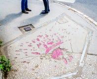 Sarajevo s'est levé image stock