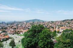 Sarajevo Skyline Royalty Free Stock Photography