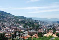 Sarajevo Skyline Stock Photos