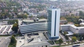 Sarajevo stadsdetalj Arkivfoton