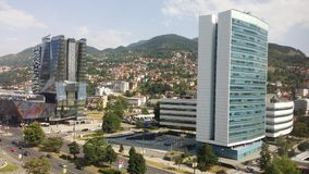 Sarajevo stadsdetalj Royaltyfri Foto