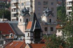 Sarajevo-Stadt von Ost- und Westkulturen lizenzfreies stockbild