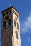 Sarajevo watch tower detail royalty free stock photos
