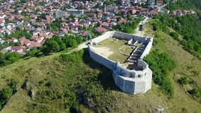 Sarajevo - The White Fortres. The White Fortress is the tower on the Dariva - Mošćanica road, on the eastern hight of Sarajevska valley. It was erected on the Royalty Free Stock Images