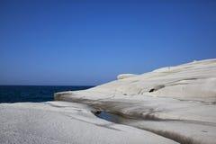 Sarakiniko beach Royalty Free Stock Photos