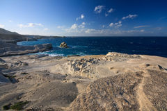 Sarakiniko beach, Milos, Greece. Royalty Free Stock Photo