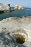 Sarakiniko, Milos, Greece Royalty Free Stock Photo