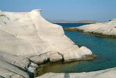 Sarakiniko, Milos, Greece Royalty Free Stock Photos