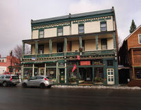 Saranac Lake art gallery Stock Photo