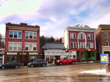 Saranac Lake Royalty Free Stock Photography