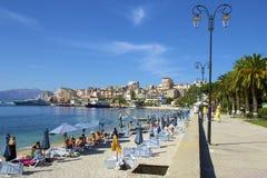 Saranda, Albânia imagens de stock royalty free