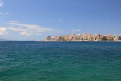 Saranda in Albania royalty free stock photography