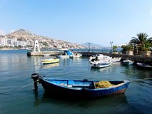 Saranda in Albania stock image