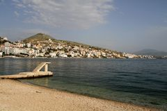 Saranda - Albanien Stockfoto