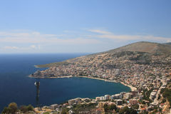 Saranda em Albânia Imagens de Stock Royalty Free