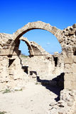 Saranda Kolones (Forty Columns) Paphos Cyprus Stock Image