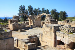 Saranda Kolones, Paphos Cyprus Royalty Free Stock Photos