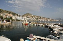 Saranda - l'Albania Fotografie Stock Libere da Diritti