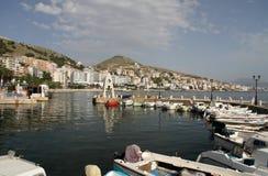 Saranda - l'Albanie Photos libres de droits